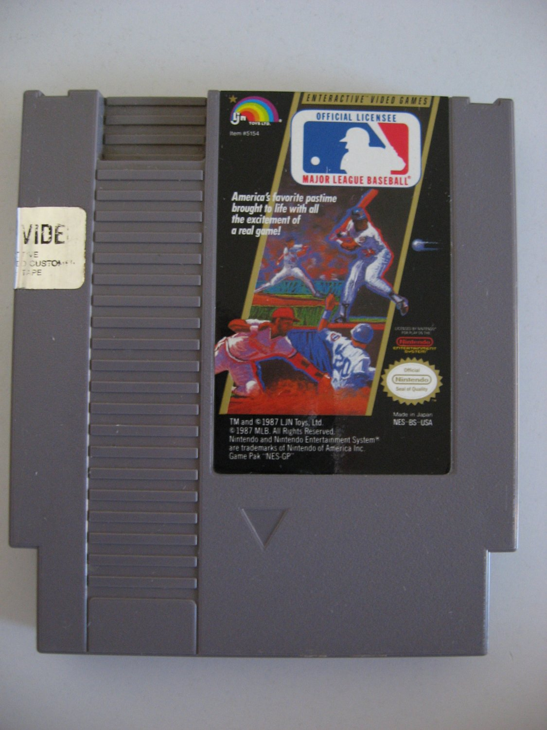 Major League Baseball - Game Cartridge