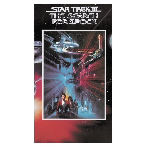 Leonard Nimoy - Star Trek III - The Search For Spock  (VHS)