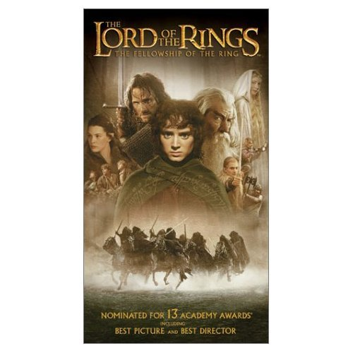 Elijah Wood - The Lord of the Rings: The Fellowship of the Ring (VHS)