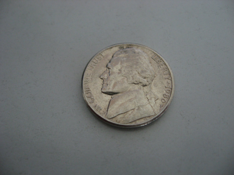 1986-P Nickel