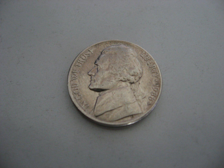 1988-P Nickel