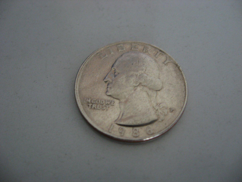 1986-P Quarter