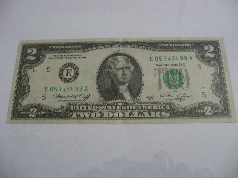 1976 - $2 Dollar Bill