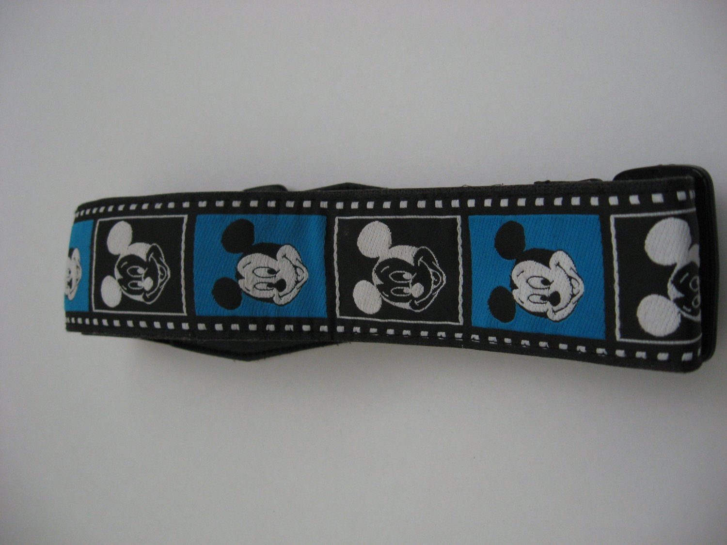 RARE Vintage Disney NEGATIVE Mickey Mouse Camera Strap