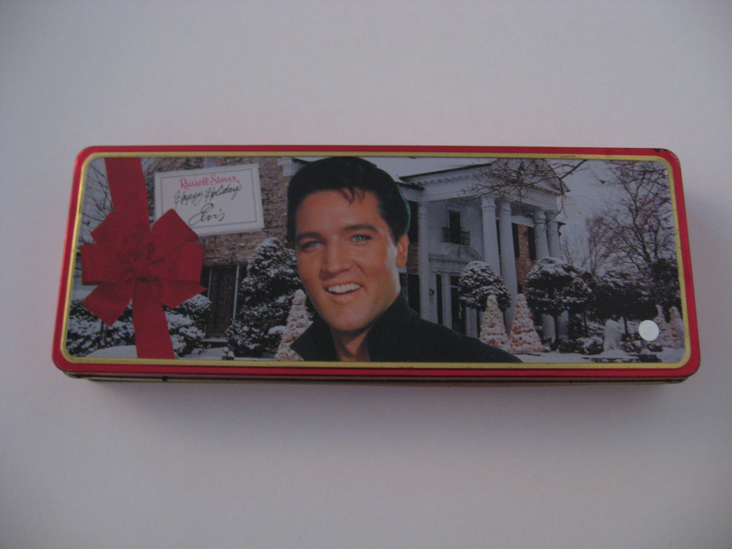 Elvis Presley - Christmas Tin with 4 Cassette Tapes