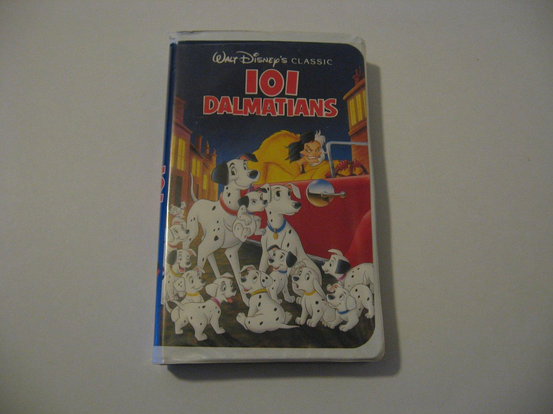 Walt Disney's - 101 Dalmatians  (VHS)