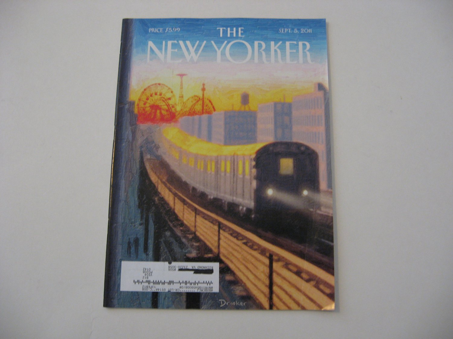 The New Yorker Magazine - Sept. 5, 2011