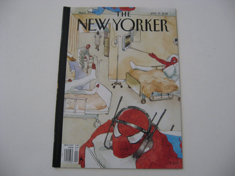 The New Yorker Magazine - Jan. 17, 2011