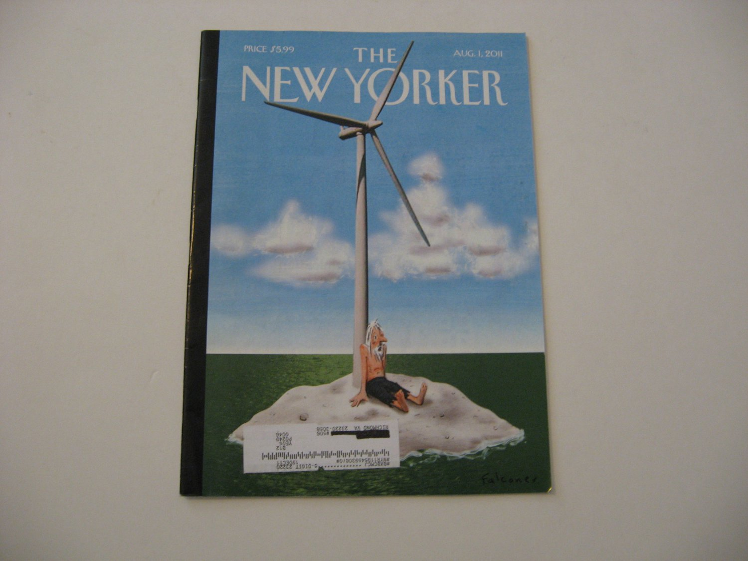 The New Yorker Magazine - Issue Date - Aug. 1, 2011