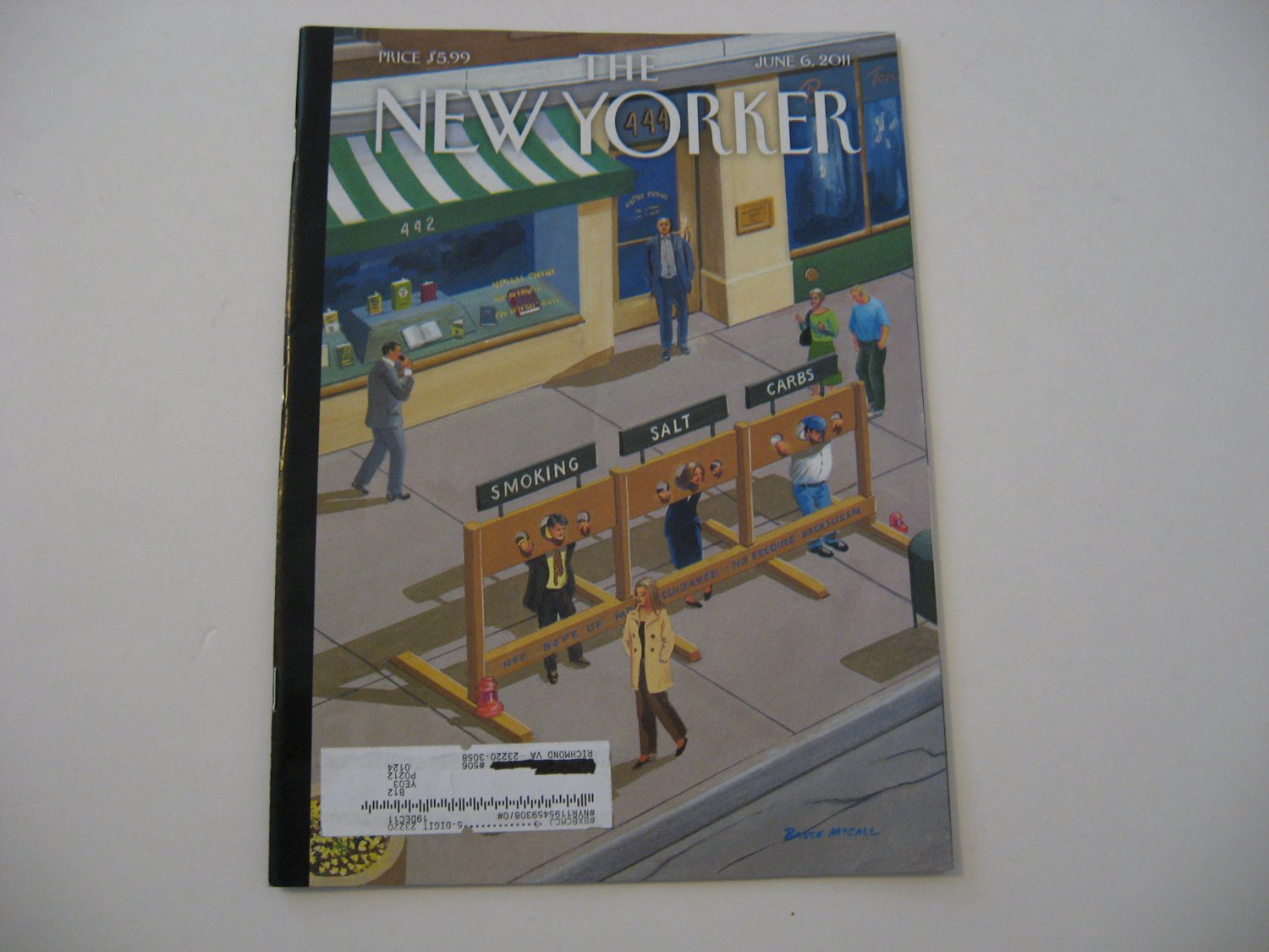 The New Yorker Magazine - Issue Date - June 6, 2011