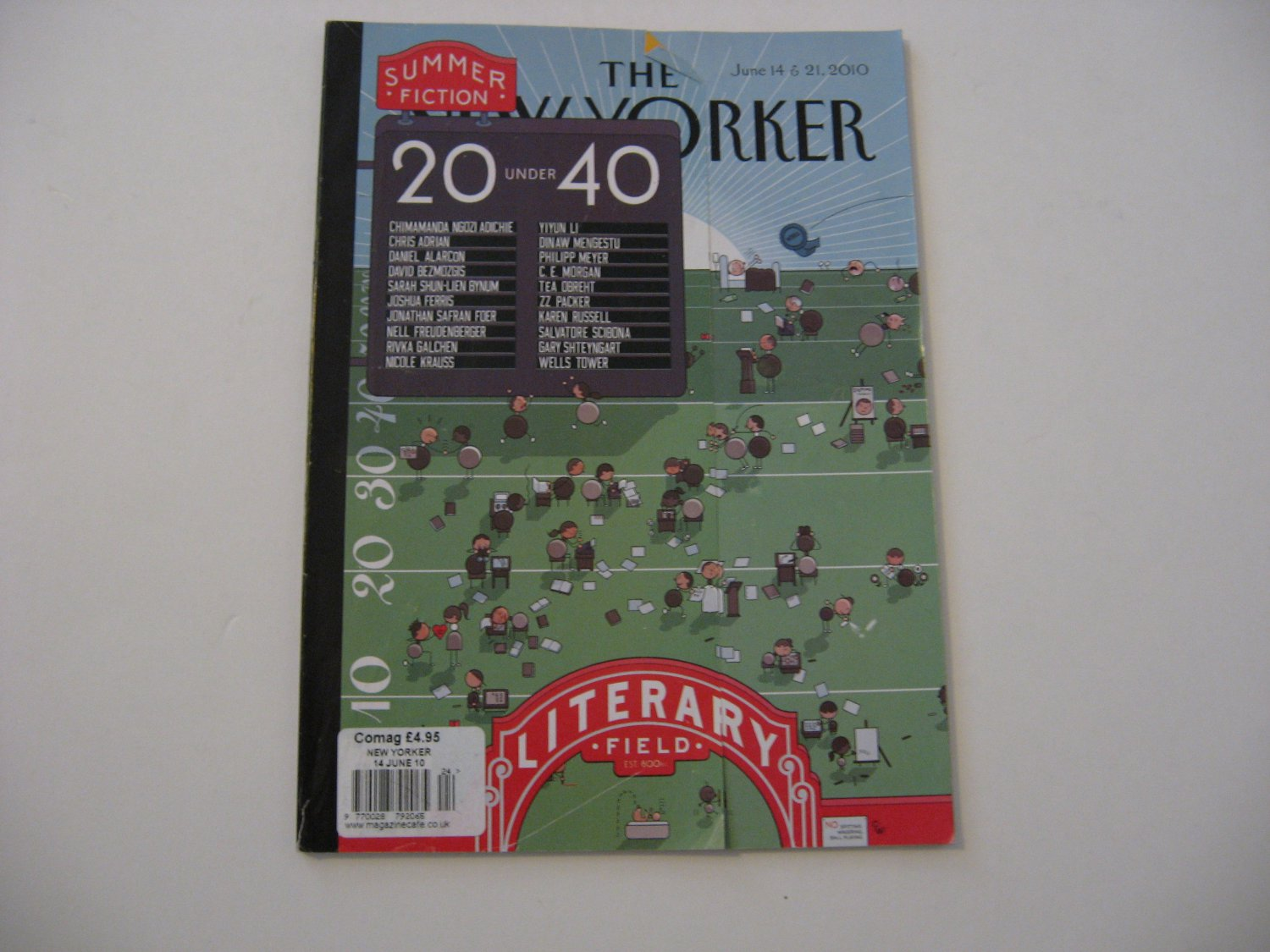 The New Yorker Magazine - Issue Date - June 14 & 16, 2010
