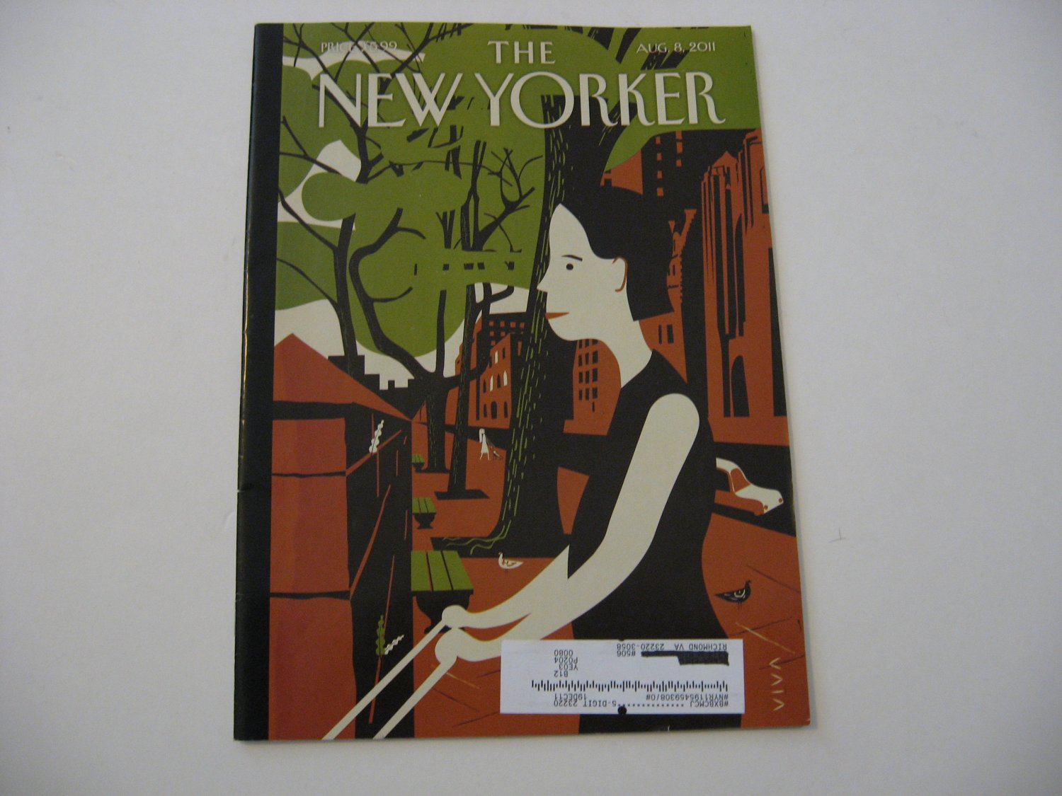 The New Yorker Magazine - Issue Date - Aug. 8, 2011