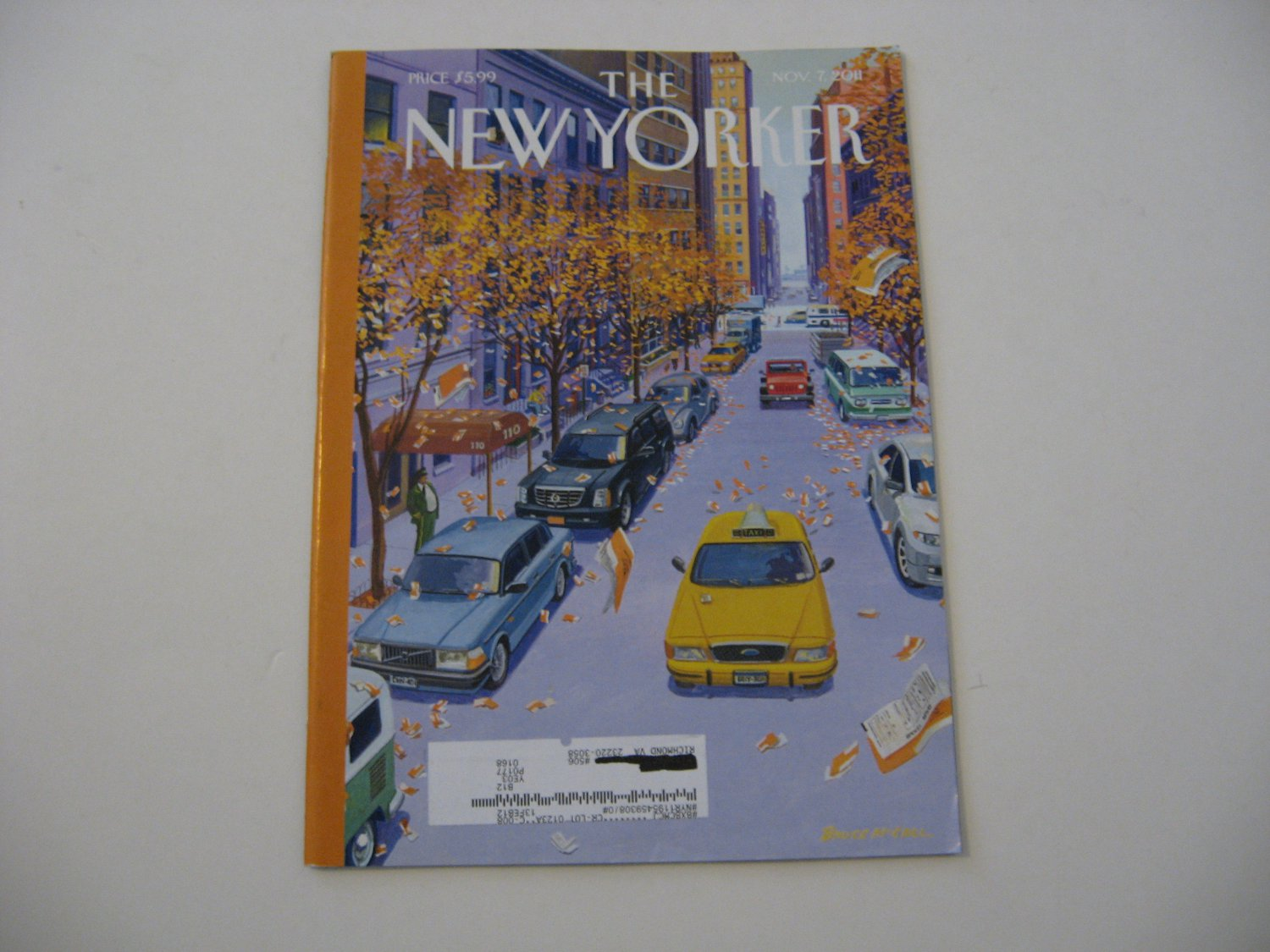 The New Yorker Magazine - Issue Date - Nov. 7, 2011