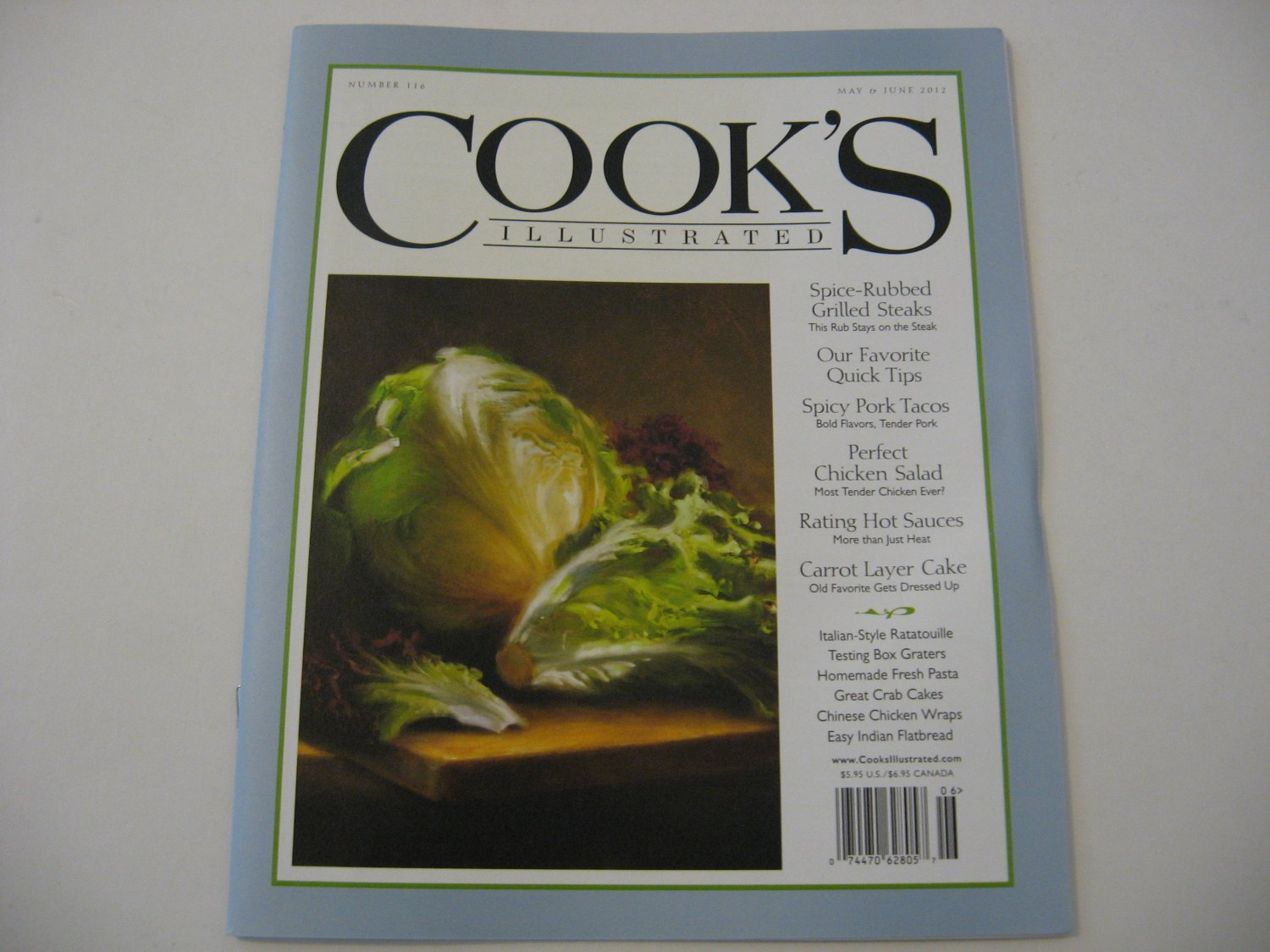 Cooks Illustrated - Issue Date - May / June 2012