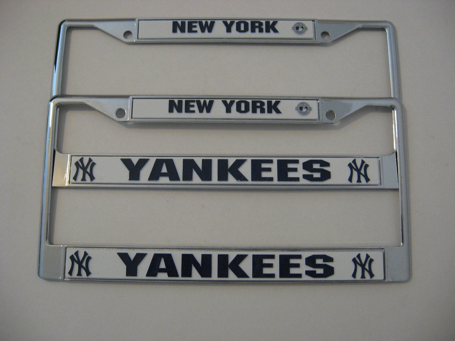 New York Yankees - Chrome License Plate