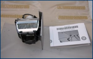 Toshiba TDP-P5 3K Hours Projector Lamp TLP-LP5