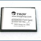 Troy MICR Deluxe Card Kit 02-20479-001 LaserJet CF Card