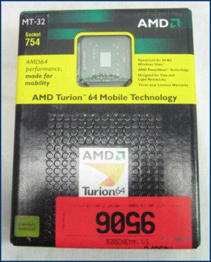AMD Mobile Turion MT-32 1.8 TMSMT32LDWOF RETAIL NEW!!!