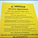 IPSwitch WS_FTP Pro 2007 Service Agreement WS-7800-2007