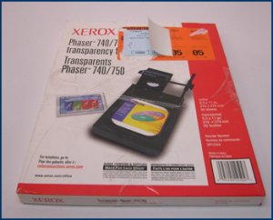 Xerox Phaser 740 Transparencies 3R12504