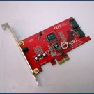 SIIG 2 port SATA2 PCI-E x1 Card SC-SAER12-S2