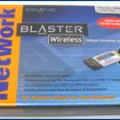 Creative Wireless 802.11g 70BX000007065 PC Card SEALED!