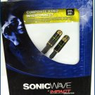 Sonicwave RCA Composite Video Cable 45430 3FT NEW