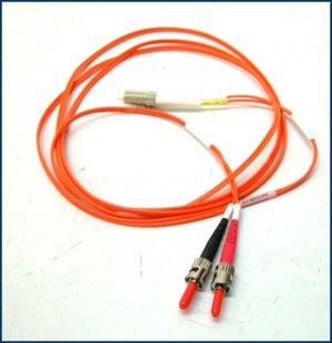 Tripp Lite MultiMode LC/ST Fibre Cable 2m N518-02M