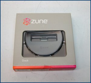 Microsoft Zune Dock 9DN-00001 NEW SEALED