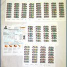 ADIC Systems SDLT Barcode Labels 10-1398-99