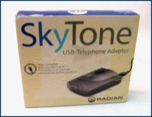 Radian Skytone USB VoIP Telephone Adapter RST301
