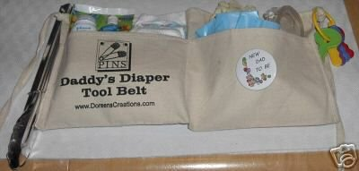 DADDY DIAPER TOOL BELT   FREE SHIPPING