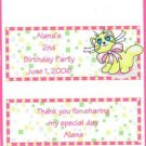Silly Cat Personalized Birthdat Hershey 1.55 oz Candy Wrappers Free Shipping