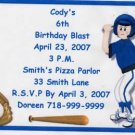 Baseball Party Invitation Personalized Free Shipping