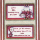 Birthday Cake Hershey 1.55 oz Personalized Free Shipping