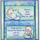 Baby Shower Hershey 1.55 oz Hershey Wrapper Personalized Free Shipping