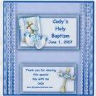 Baptism Boy Hershey 1.55 0z Free Shipping