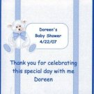 Blue Teddy Bear Hershey 1.55 0z Free Shipping