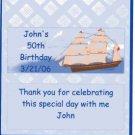 Sail Boat Hershey 1.55 0z Free Shipping
