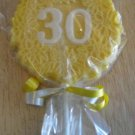 Chocolate  Birthday 30th Lollipop Free Shipping