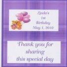 Bear Girl  Birthday Hershey 1,55 0z free shipping