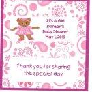 Bear Girl  Baby ShowerHershey 1.55 0z free shipping