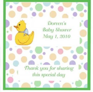 Baby Shower Candy Wrapper Free Ship