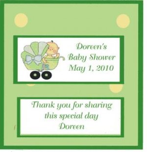 Baby Shower Candy Wrappers Free Ship