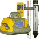 Trimble Spectra LL100 Rotary Laser Level Peckage with Tripod, Rod, HR320 Receiver All In One Case