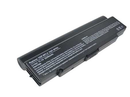 Sony VGN-FS71B battery 6600mAh