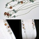 Multi Color Double Layer Bead Necklace BN_008