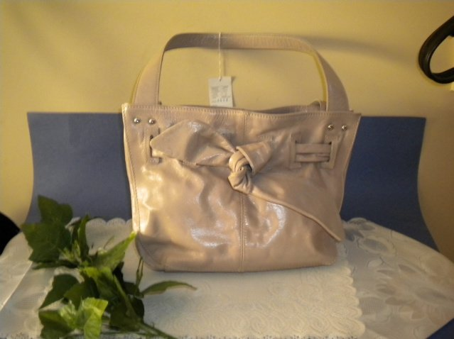 Pepe Moll Designer Leather Bow Handbag Purse Bag NEW