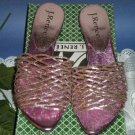 J Renee Pink Carmen Sandals Shoes 8.5 M 8 1/2 NEW