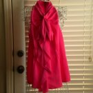 Pixie Hopkins Pink Ruffled Blouse Top Size L $88 NEW